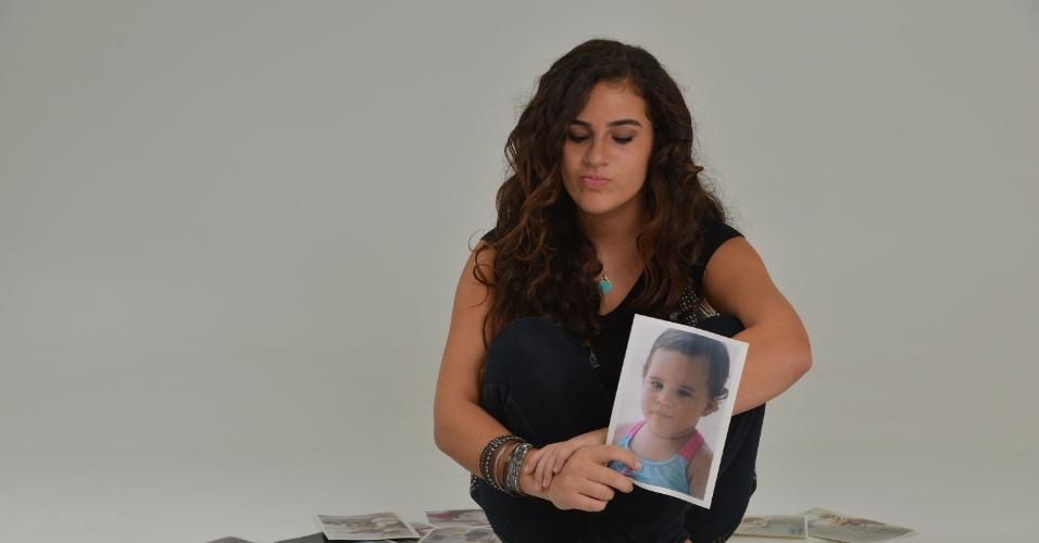 28.fev.2013 - Lívian Aragão posou com exclusividade para o UOL no estúdio de sua mãe, Lílian, localizado na Barra da Tijuca, zona oeste do Rio. Aos 13 anos, a adolescente contou que ainda não tem namorado