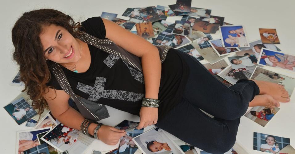 28.fev.2013 - Lívian Aragão posou com exclusividade para o UOL no estúdio de sua mãe, Lílian, localizado na Barra da Tijuca, zona oeste do Rio.