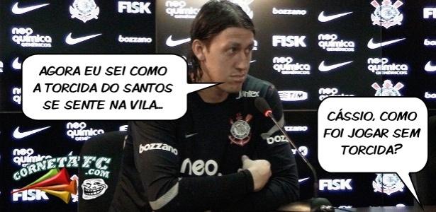Corneta FC: Cássio conta como foi jogar sem torcida