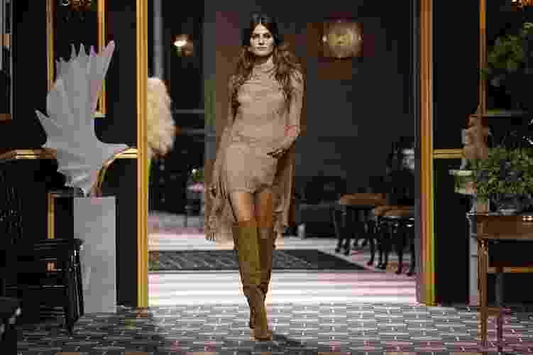 Estreia da H&M nas passarelas com desfile na semana de moda de Paris com coleção Inverno 2013 (27/02/2013) - Benoit Tessier/Reuters