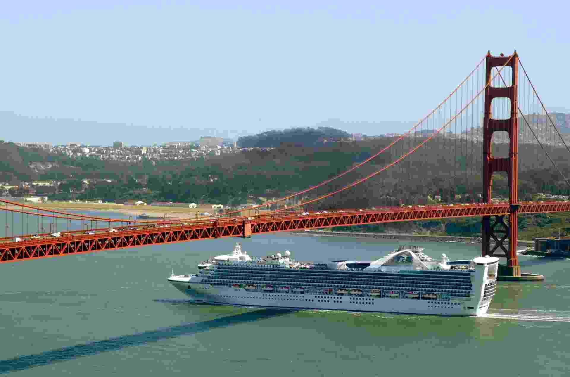 Navio Star Princess, da companhia Princess Cruises - Divulgação