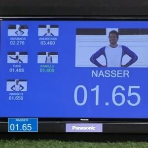 Cronômetro errou tempo de Nasser na prova da semana passada