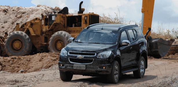 SUV pesa mais de duas toneladas, tem quase 5 metros de comprimento, 1,84 m de altura e 1,90 de largura - Murilo Góes/UOL
