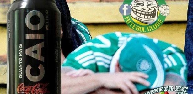 Corneta FC: Palmeiras lança lata de refrigerante personalizada