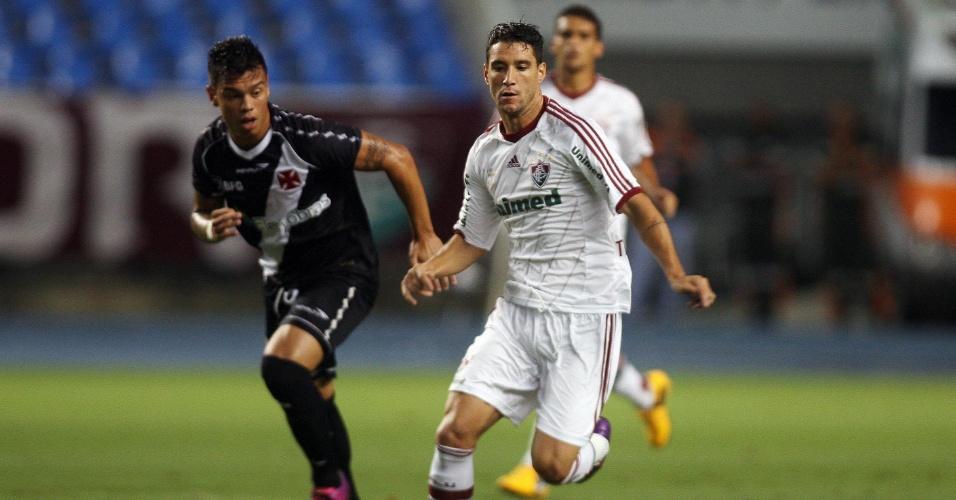 Bernardo abriu o placar para o Vasco e Thiago Neves empatou o jogo no Engenhão