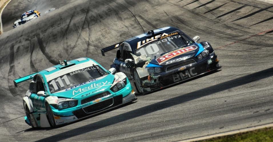 03.mar.2013 - Rubinho chega em 25º e fica fora da zona de pontuação na abertura da temporada da Stock Car, em Interlagos