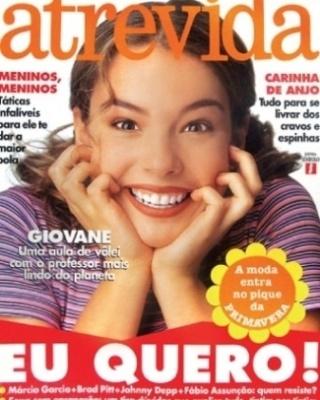 """A atriz Regiane Alves, antes de ir para televisão, também foi capa da revista """"Atrevida"""""""