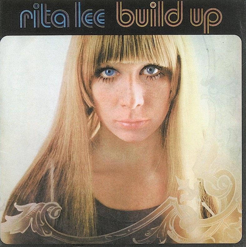 A cantora Rita Lee em capa de disco nos anos 1970