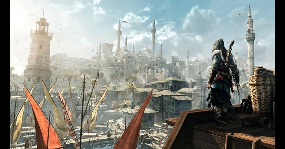 """Ambientado em Constantinopla, """"Assassin's Creed: Revelations"""" é o capítulo final da saga do galã italiano Ezio."""