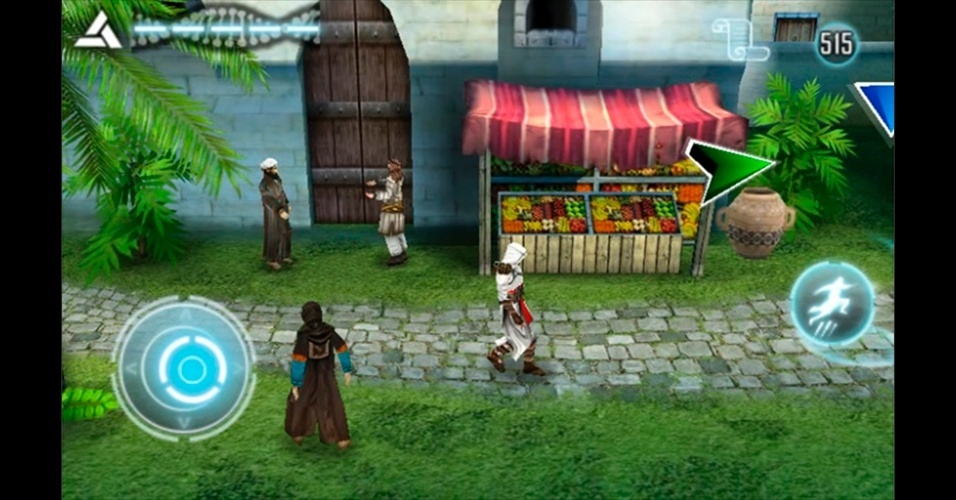 """""""Assassin's Creed: Altair Chronicles"""" levou a série ao DS e diversos celulares e tablets."""