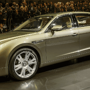 Bentley Continental Flying Spur - Fabrice Coffrini/AFP