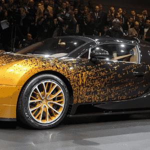 Bugatti Veyron Grand Sport Venet - Fabrice Coffrini/AFP