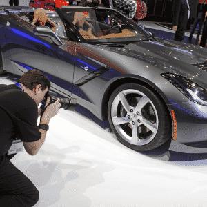 Chevrolet Corvette Stingray conversível - Fabrice Coffrini/AFP