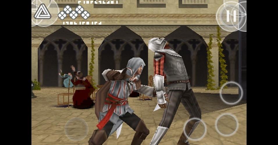 """De 2009, """"Assassin's Creed II: Discovery"""" levou as aventuras de Ezio para o DS e celulares."""