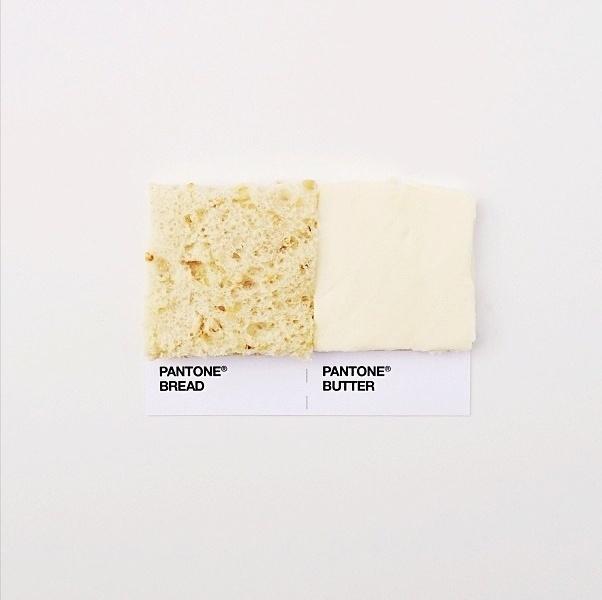 Designer mostra no Instagram ''escala padrão'' à la Pantone de pares de comida