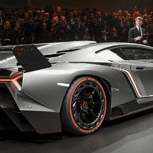Lamborghini Veneno - Fabrice Coffrini/AFP