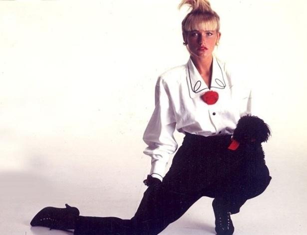 """Xuxa, já conhecida como """"rainha dos baixinhos"""", relembra a época de modelo nos anos 80"""