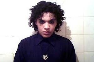 Dionatha Celestrino, atualmente com 21 anos, em imagem quando tinha 16 anos e cometeu 3 homicídios
