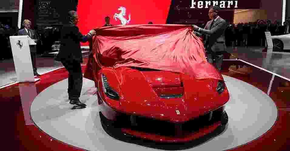 Ferrari La Ferrari - Denis Balibouse//Reuters