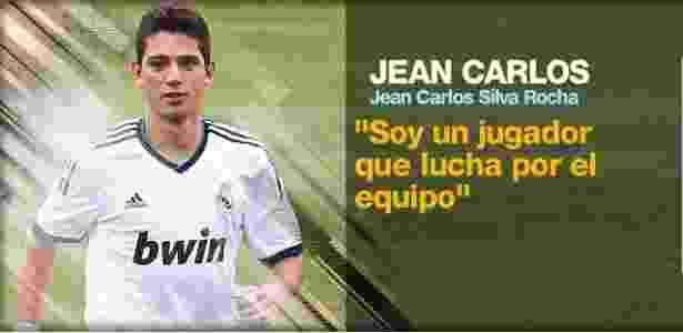 Jean Carlos dá sua definição de jogo em perfil no site do Real Madrid - Reprodução/Site oficial Real Madrid
