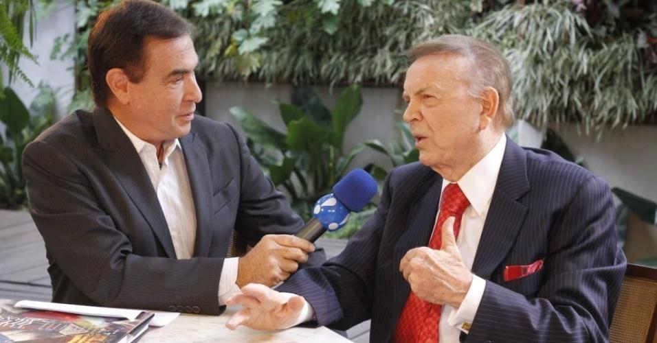 José Maria Marin em entrevista a Amaury Jr.