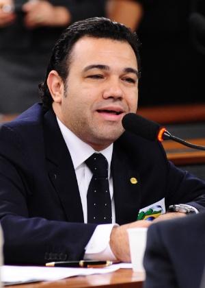 Pastor Marco Feliciano (PSC-SP) em reunião da Comissão de Constituição e Justiça e de Cidadania da Câmara, em 2011