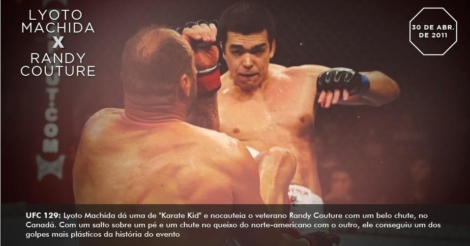UFC 129: Lyoto Machida dá uma de