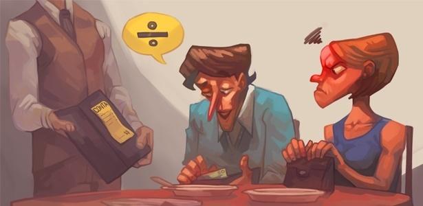 Você acha que quem considera uma obrigação masculina pagar a conta no primeiro encontro é sinal de machismo? Use o campo de comentários desta página para dizer a sua opinião sobre o assunto - André Rocca/UOL