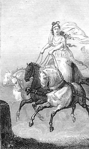 - Cynisca ? princesa espartana, a primeira mulher a vencer uma prova em Jogos Olímpicos, ainda na era da Antiguidade. Apesar da conquista, ela não teve permissão de receber o prêmio pessoalmente