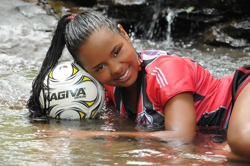 Bruna Martins se inscreveu para representar o Corinthians no Belas da Torcida 2013
