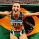 Maurren fica em 5º na sua primeira competição desde as Olimpíadas