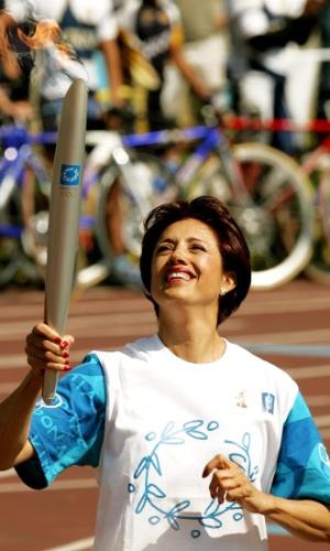 Norma Enriqueta Basilio - primeira mulher a acender a Tocha Olímpica nos Jogos Olímpicos de Verão, no México em 1968. Na época, era considerada a melhor atleta mulher do México. Em 2004 voltou a carregar a tocha olímpica, no trecho em que ela passou pela cidade do México. Hoje, é personalidade importante da política esportiva mexicana.
