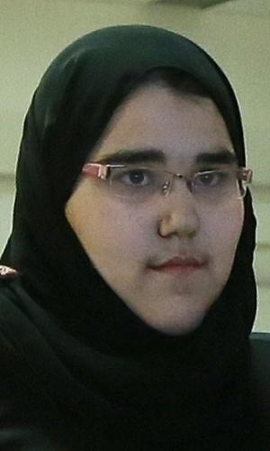 """Wodjan Ali Seraj Abdulrahim Shahrkhani - judoca saudita que, com apenas 16 anos, tornou-se a primeira mulher de seu país a competir nos Jogos Olímpicos, em Londres, no ano passado. Wodjan praticava judô escondida em seu país, mas acabou ganhando autorização especial para ir aos Jogos. Para lutar, porém, ela exigiu que pudesse usar o """"hijab"""", véu islâmico. Após discussões sobre os riscos do uso do acessório, a atleta conseguiu permissão do COI e fez história nas Olimpíadas."""