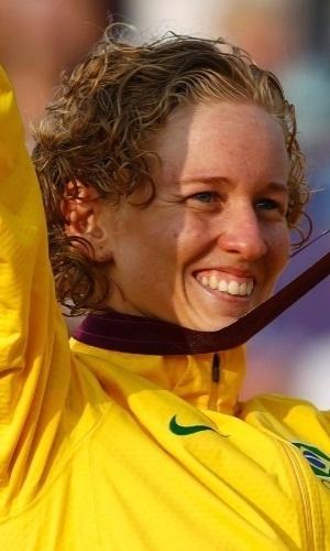 Yane Marques ? Conquistou a primeira medalha olímpica do Brasil na história do pentatlo moderno ao ficar em terceiro lugar nos Jogos de Londres
