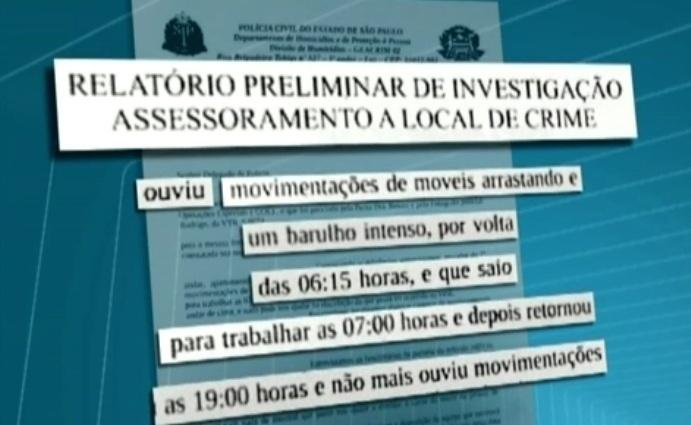 8.mar.2013 - Um vizinho ouvido pela polícia relatou que ouviu móveis serem arrastados no apartamento do cantor em Pinheiros
