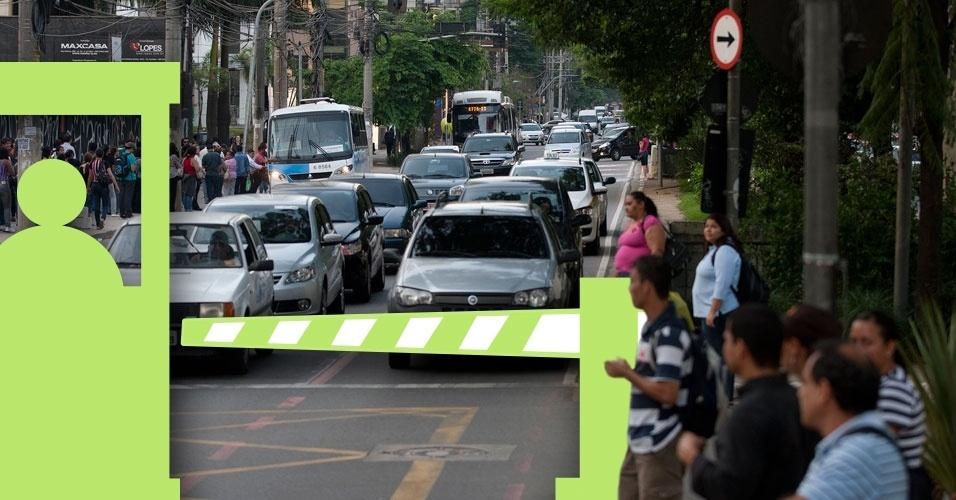 Pedágio urbano na avenida Berrini