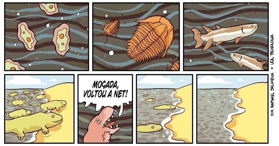 """""""Um momento na evolução"""" - 08/03/13"""