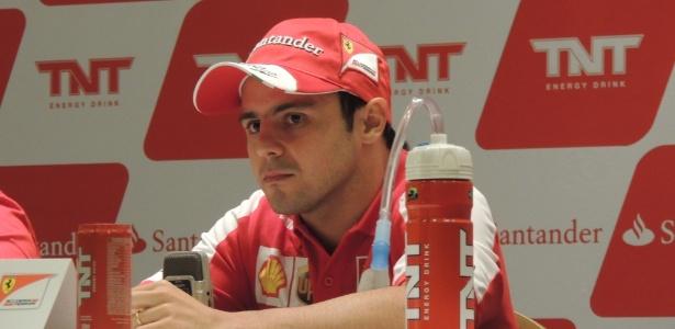 Felipe Massa, piloto da Ferrari, lamentou a demolição do autódromo de Jacarepaguá - Renan Rodrigues/UOL