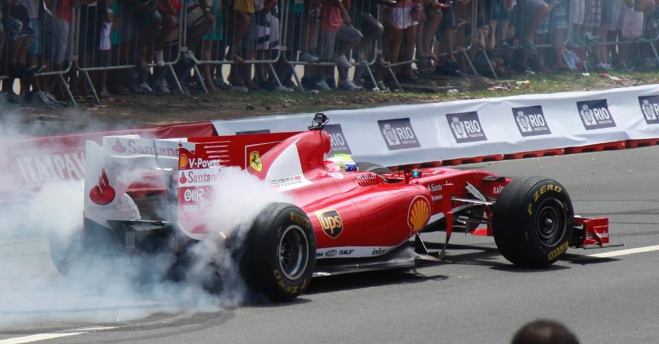 10.mar.2013 - Felipe Massa
