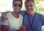 Ex-BBB Eliéser publica uma foto com Pedro Bial no Instagram - Reprodução/Instagram