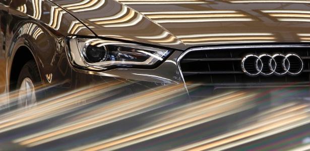 Audi A3 passa por na linha de produção em Ingolstadt; em breve, será feito no Paraná ao lado do Golf