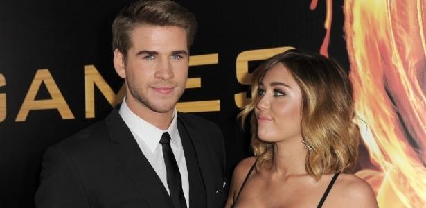Miley Cyrus e o ator Liam Hemsworth ficaram juntos por quase cinco anos - Getty Images