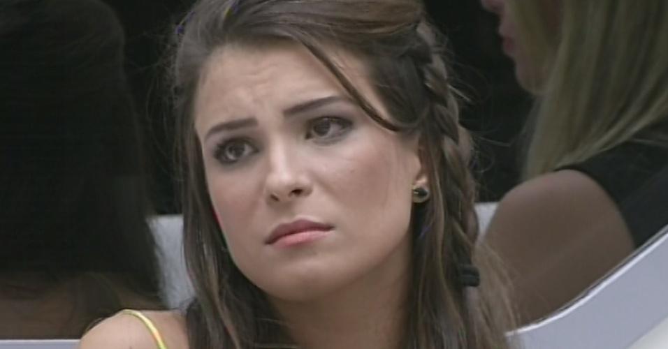 12.mar.2013 - Com 68% dos votos, Kamilla é eliminada do