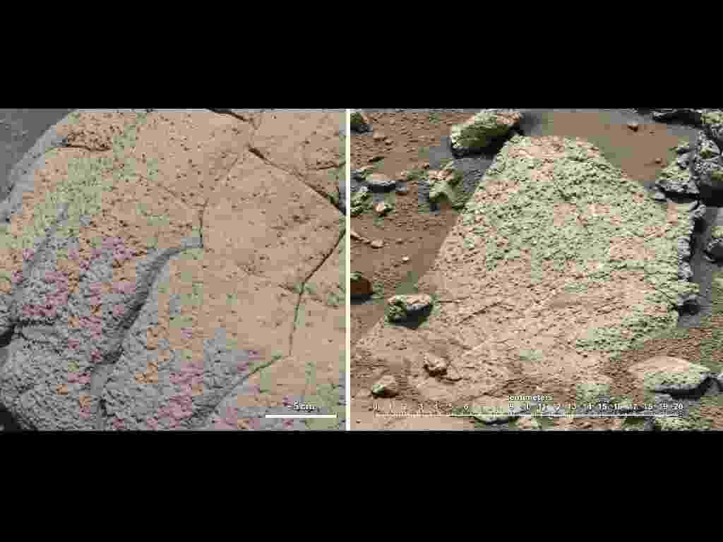 12.mar.2013- Nasa encontra sinais de que Marte teve condições para a vida no passado - Nasa/JPL-Caltech/Cornell/MSSS