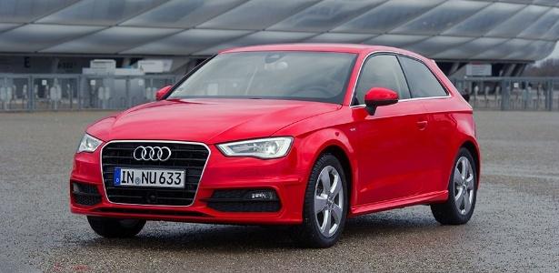 Audi A3 duas portas, ainda inédito no Brasil: como outros membros da família, pode virar paranaense - Sauer Stefan/Divulgação
