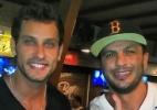 Ex-BBBs Eliéser e Kleber Bambam se encontram no Rio de Janeiro - Reprodução / Instagram