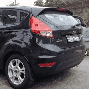 Ford New Fiesta SE com câmbio Powershift, de dupla embreagem e seis velocidades, roda em SP à espera do lançamento - Best Cars