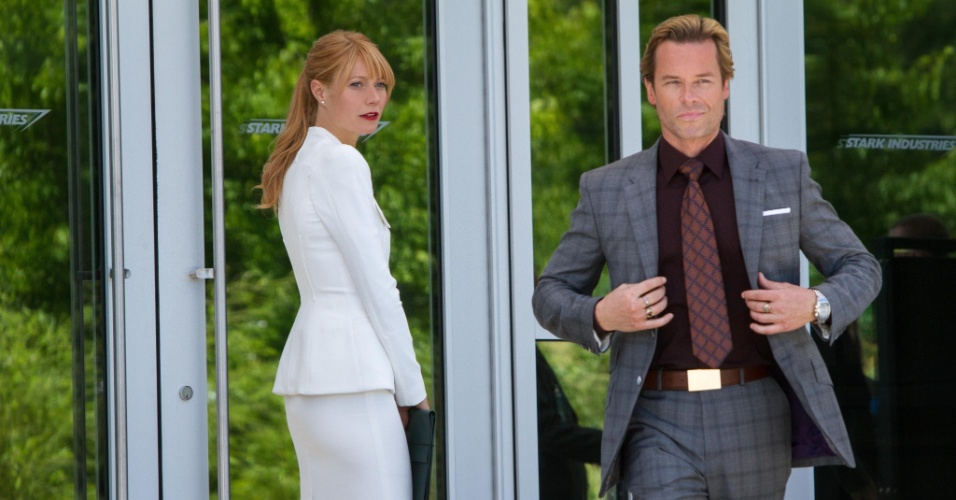Gwyneth Paltrow e Guy Pearce em cena de