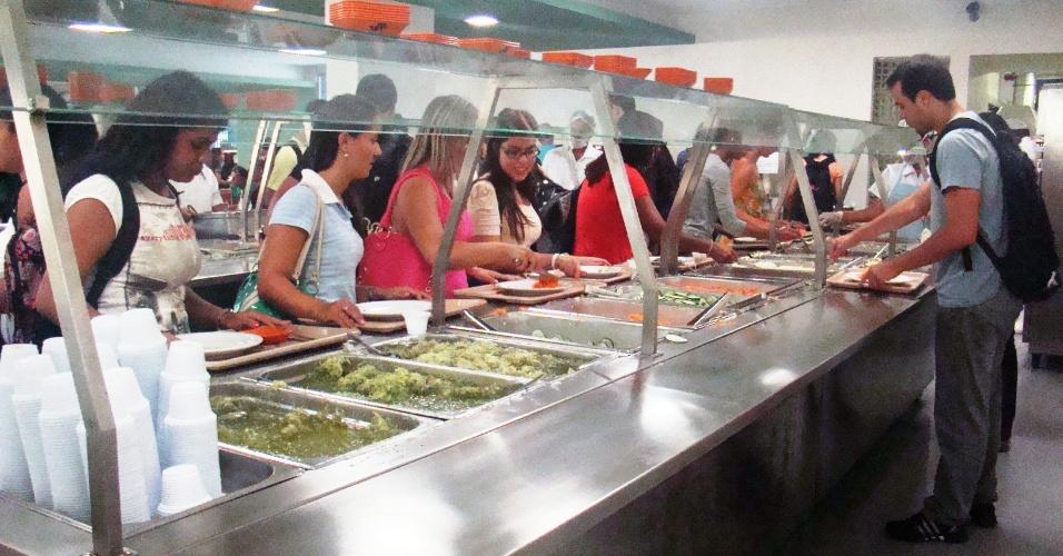Restaurante universitário da UFF (Universidade Federal Fluminense)