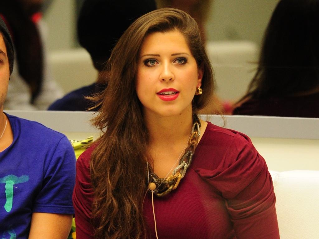 10.mar.2013 - Depois da votação da casa, Andressa descobre que também está emparedada